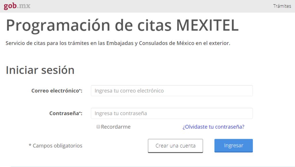 Cita Pasaporte Sre 2020 Infocitas Mexico